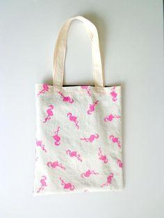 Flamingo Mania tas van pixuthings op DaWanda.com