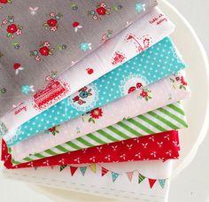 mix of Tasha Noel fabrics!