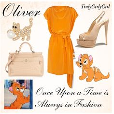 Disney Style: Oliver, created by trulygirlygirl.polyvore.com
