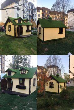 Игровой домик Cabin, House Styles, Outdoor Decor, Home Decor, Decoration Home, Room Decor, Cabins, Cottage, Home Interior Design