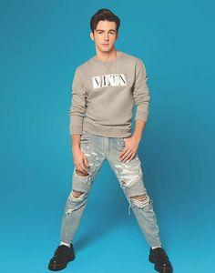 Drake Bell, Graphic Sweatshirt, T Shirt, Sweatshirts, Long Sleeve, Sleeves, Sweaters, Mens Tops, Fashion