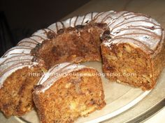 lissa: Chec cu mere,nuci si stafide No Cook Desserts, Sweets Recipes, Loaf Cake, French Toast, Homemade, Cookies, Breakfast, Food, Sweet Dreams