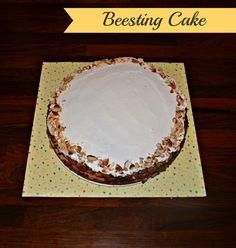Bee Sting Cake is a simple and tasty German Cake recipe