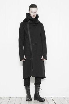 nude: Masahiko Maruyama F/W 2014 Monochrome Fashion, Dark Fashion, Minimal Fashion, Men Street, Street Wear, Unisex Fashion, Mens Fashion, Apocalyptic Fashion, Future Fashion