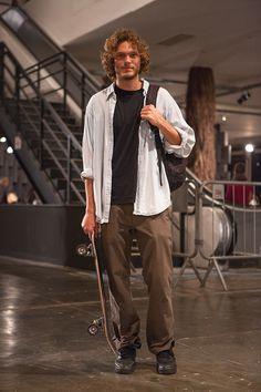 Mihaly Martins - Street style masculino SPFW Inverno 2014 - Dia 2