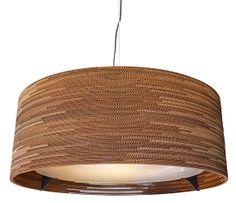 DRUM bølgepap pendel fra Graypants. Køb din Scraplight DRUM lampe online her
