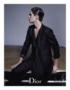 Dior Homme 2010 Spring Campaign by Karl Lagerfeld