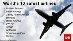 world's safest airlines 2015