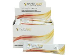 Theta Fuel -   Combats fatigue on a cellular level Crash-free, stimulant-free formula Free of artificial sweeteners, colors or preservatives www.americanhealthmart.com