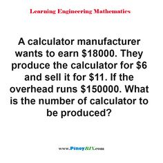 What's The Number, Practice Exam, Multiple Choice, Algebra, Calculator, Mathematics, Read More, Numbers, This Or That Questions