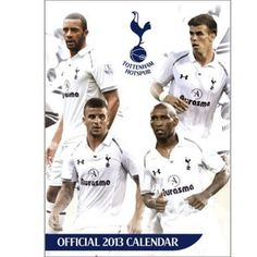 Tottenham Hotspur 2013 Spurs Calendar by Tottenham Hotspur. $9.87. This official 2013 Tottenham Hotspur calendar features images of all of the current Spurs squad and is ideal for all Spurs fans. Measures 420mm x 297mm (A3)