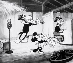 Horace in the 1931 Short 'Barnyard Broadcast'
