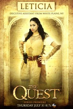 """Meet the Paladins: Leticia Reyes: """"We all want to be the one who is able to save Everealm."""" #TheQuest"""
