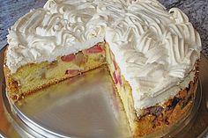Rhabarber - Baiser - Kuchen (Rezept mit Bild) von toskanaloewe | Chefkoch.de
