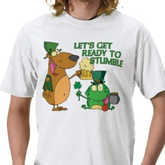 Ah yes. The Patrick's Day swagger! :)