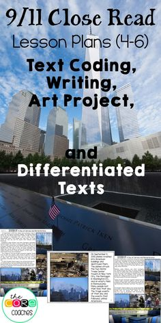 Wow, CCSS aligned activities for 9/11 AND differentiated texts!