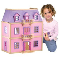 Kidkraft So Chic Dollhouse (brown)