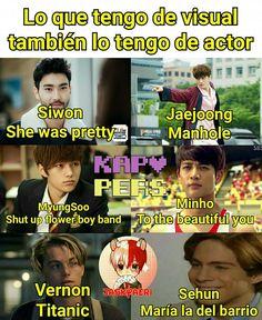 JAJJAJAJAJAJAJ SE PASARON Super Junior, Jonghyun, Shinee, Sehun, Drama Memes, Myungsoo, Fandom Memes, Exo Memes, Fake Love
