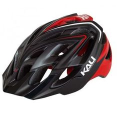 Kali Chakra PLUS helmet - Sonic Matte Black/Red