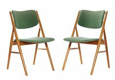 Olav Haug teak chair, 1950s.