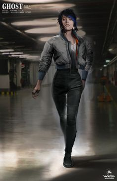 """quarkmaster: """" Ghost in the Shell - Major Costumes Several of The Major's costume articles were a collaborative effort between the Weta Design Studio, costume designers Kurt and Bart and concept designer, Maciej Kuciara. Knowing that the thermoptic..."""