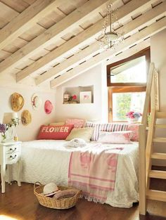 It has always been my hearts desire to have an attic bedroom