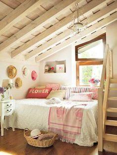 It has always been my hearts desire to have an attic bedroom