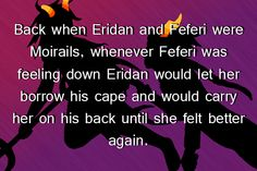 """Back when Eridan and Feferi were Moirails, whenever Feferi was feeling down Eridan would let her borrow his cape and would carry her on his back until she felt better again. I Love You All, Told You So, Let It Be, My Love, Homestuck Trolls, And So It Begins, Some Funny Jokes, Feeling Down, Fandoms"