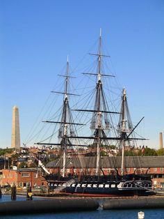 USS Constitution, Boston Harbor, Massachusetts