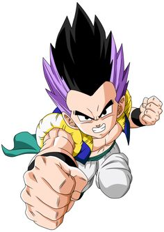 Super Saiyajin - Dragon Ball Wiki, Gotenks Base.png