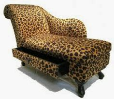 Chaise. Love this style and even moreso with the draw.