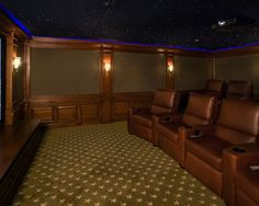 Home Theater Under the Stars | Fivecat Studio Architecture and Construction | Architects serving Westchester County, NY