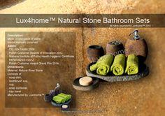 Real Stone Bathroom Sets...