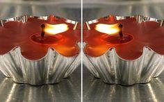 Curiosas velas artesanais