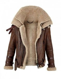 Always wanted and authenitc style bomber jacket     Burberry Prorsum Shearling Coat for Autumn/Winter 2010