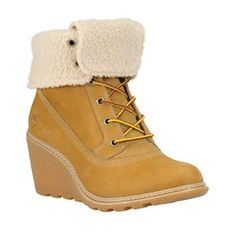 Timberland - Bottines Earthkeepers Amston Roll-Top Femme - Wheat