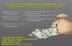 Get extra revenue using our international Premium rate numbers.