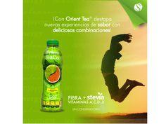 #orienttea RICO Y REFRESCANTE BIENESTAR. La planta del té verde es un pequeño arbusto originario del sur de China que se cultiva en las regiones cálidas y húmedas del planeta. Este árbol de la familia de las teáceas, puede alcanzar los 9 metros de altura en estado silvestre. Su fruto es una cápsula con una sola semilla, que produce la planta entre los 2 y 4 años de edad. Orient Tea es una bebida embotellada con los beneficios del té, enriquecida con vitaminas, endulzada con stevia y sin…