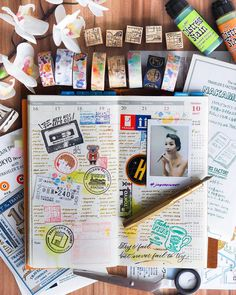 """62 Likes, 2 Comments - Joy Chong · 张晋惠 (@joychong) on Instagram: """"Week 42 in my vertical layout: collected a few stamps as I travelled through Japan and went to the…"""""""