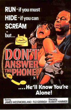 exploitation movie posters   DONT ANSWER THE PHONE - Exploitation B Movie Posters Wallpaper Image