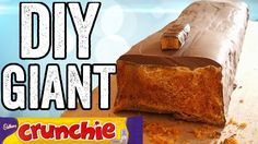 Crunchie Cake, Giant Chocolate, Giant Food, Fancy Cakes, Holiday Recipes, Cake Recipes, Sweets, Candy