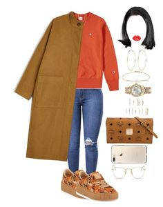 """""""Untitled #2589"""" by mrkr-lawson ❤ liked on Polyvore featuring Champion, Puma, Tate, Fremada, Rolex, Forever 21, River Island, MCM, Monki and Ray-Ban"""