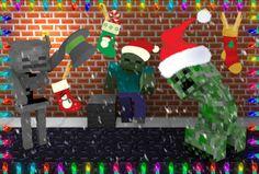 minecraft christmas wallpaper | Merry Minecraft!!! - Minecraft Forum