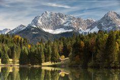 Le lac Geroldsee en Bavière.