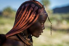 By Eric Lafforgue Eric Lafforgue, African Braids Hairstyles Pictures, Braided Hairstyles, Black Hairstyles, Prom Hairstyles, Himba Girl, Himba People, Traditional Hairstyle, Tribal Women