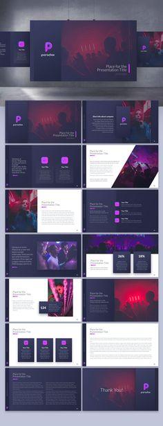 Cool, sexy nightclub app needs deck for pitching to high-pro Web Design Trends, App Design, Slide Design, Design Layouts, Brochure Design, Business Presentation Templates, Presentation Design Template, Presentation Layout, Power Point Presentation