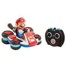 Nintendo Mario Kart 8 Remote Control Mini Racer, Multicolor