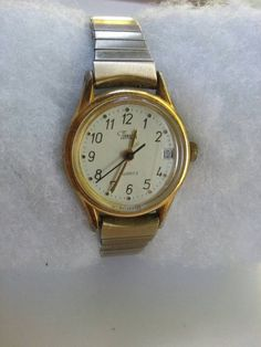 Nice ladies Timex. New battery. Works great. 7.95 free shipping .