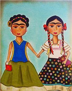 The 2 Fridas | Flickr – Compartilhamento de fotos!