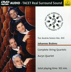 Auryn Quartet - Auryn Series: Vol. 16: Brahms String Quartets